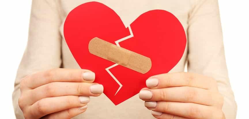 Coração Partido Quando o Amor Acaba